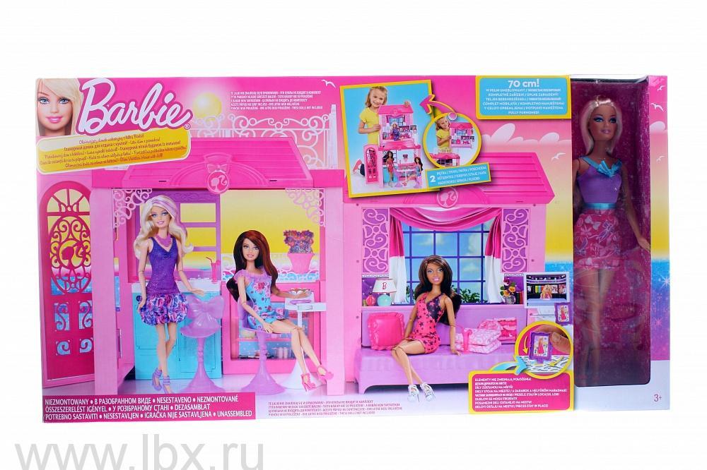 Игровой дом с куклой Barbie (Барби), Mattel (Маттел)