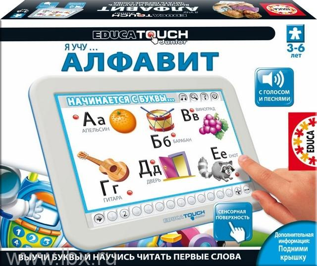 Я учу алфавит - Минитачпад Educa (Эдука)