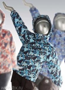 Куртка зимняя для мальчика Crockid (Крокид) `Тетрис`