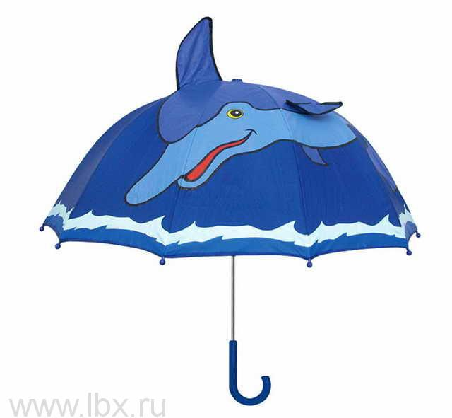 Зонт-трость Дельфин, Kidorable (Кидорабл)