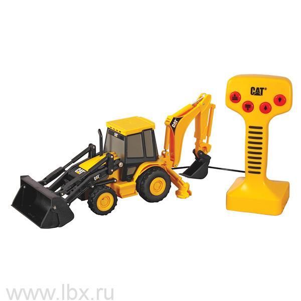 Экскаватор-погрузчик на дистанционном управлении Toy State (Той Стейт)