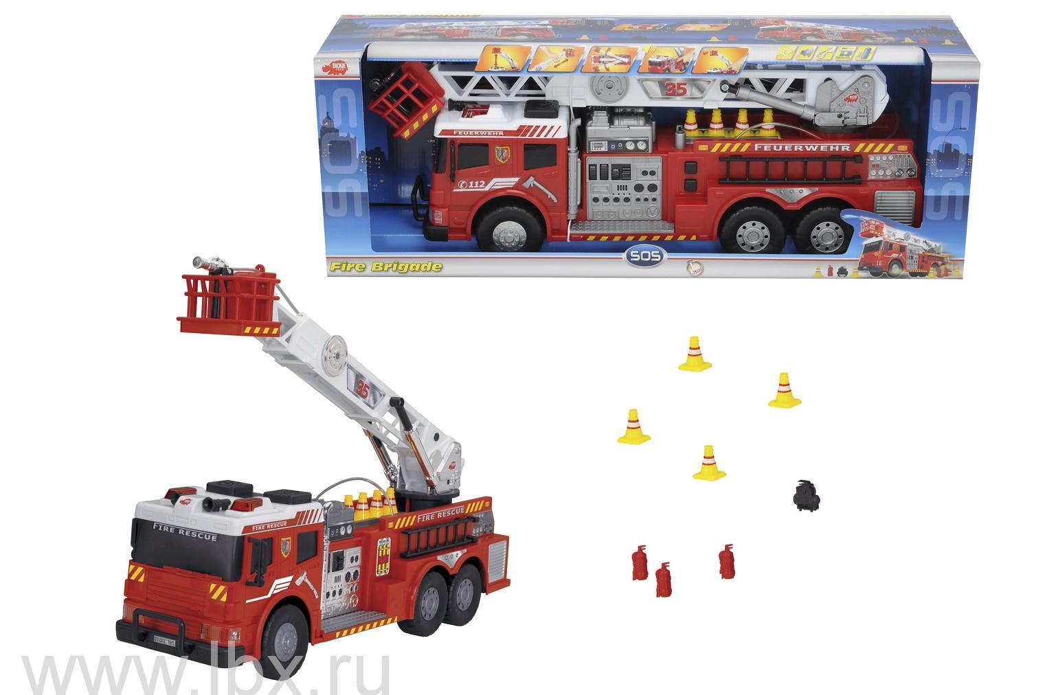 Пожарная машина с водой Dickie (Дики)