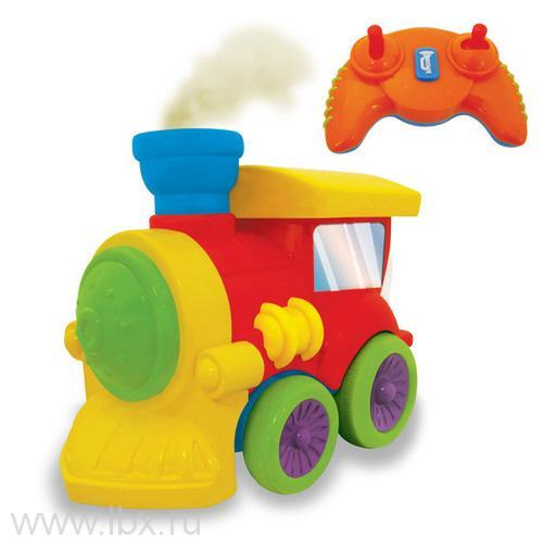 Развивающая игрушка `Паровозик` на радиоуправлении, Kiddieland (Кидди лэнд)
