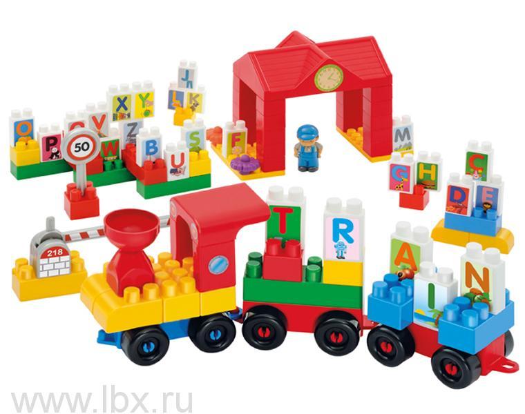 Конструктор `Поезд с буквами`, Ecoiffier (Экойфер)