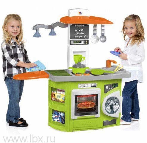Игровая кухня со светом (12 предметов), Molto (Молто)