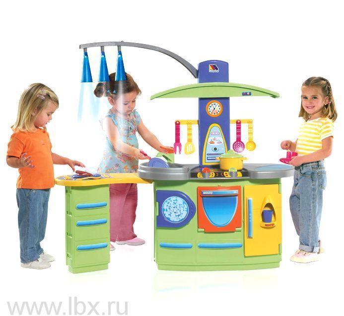 Игровая кухня большая (19 предметов), Molto (Молто)