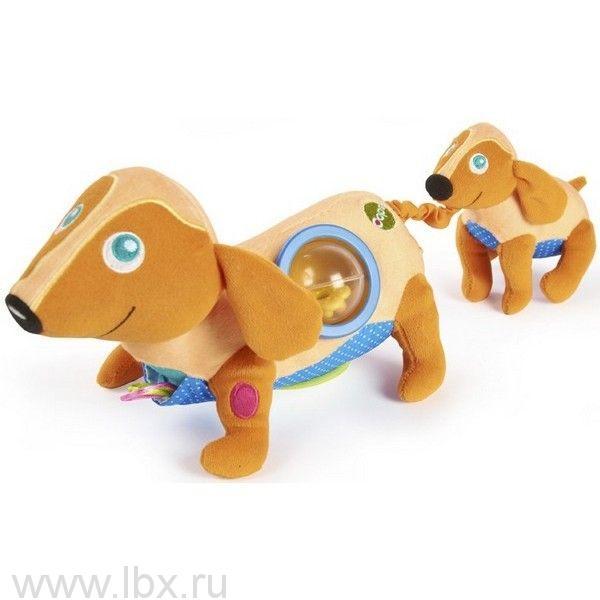 Развивающая игрушка Собачка, OOPS (УПС)