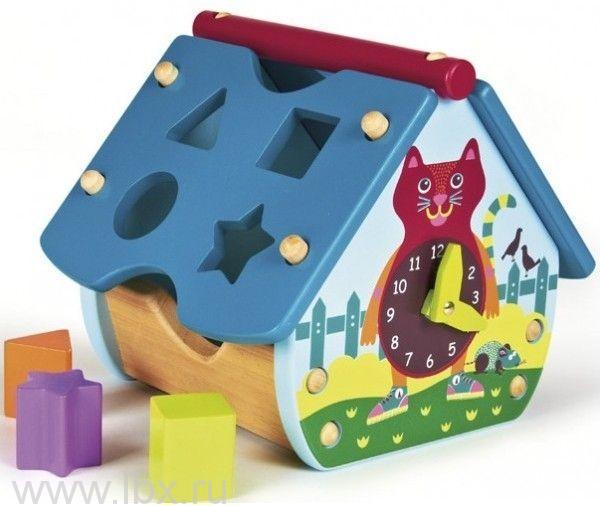 Развивающая игрушка домик-сортер (2 вида), OOPS (УПС)