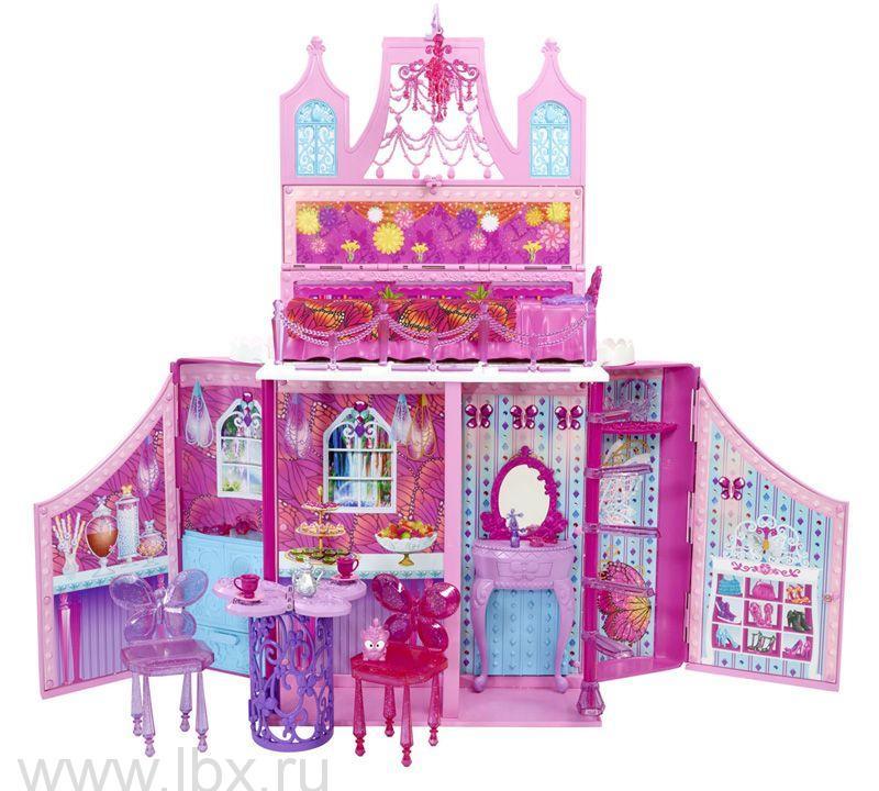 Дом-трансформер , набор `Принцессы`, Barbie (Барби)