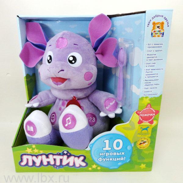 Мягкая игрушка `Лунтик`, Мульти-Пульти