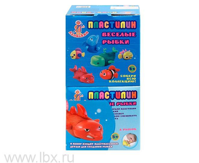 Пластилин 3 цвета, Лепилкин, ВВ-Тойз (VV-Toys)
