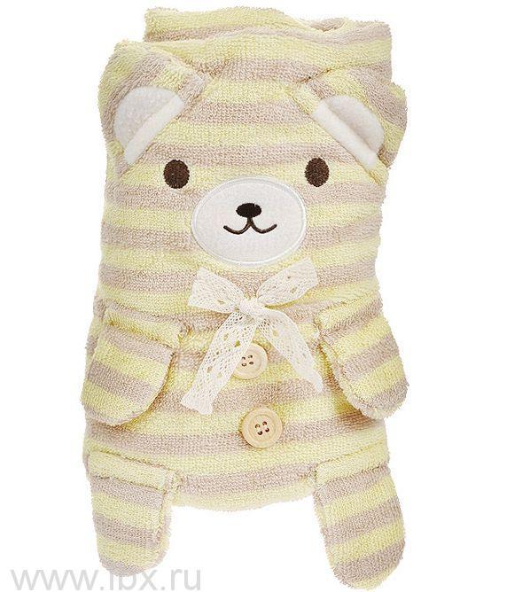 Полотенце-игрушка `Медвежонок`, Creative Studio (Криэйтив Студио)