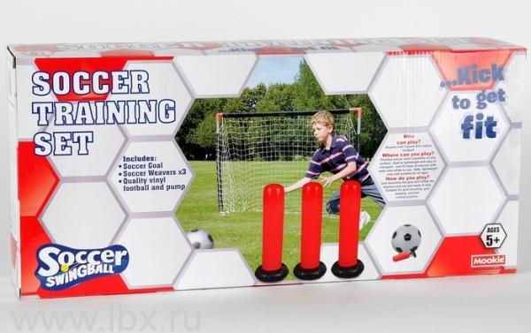 Набор футболиста Swingball Soccer Training Set, Mookie (Моки)