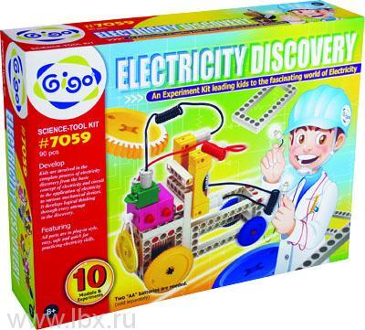 Конструктор Gigo (Гиго) Электрическая энергия (Electricity discovery)