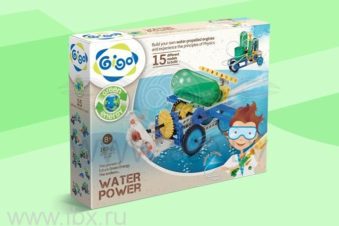Конструктор Gigo (Гиго) Энергия воды (Water power)