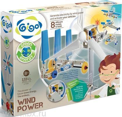 Конструктор Gigo (Гиго) Энергия ветра (Wind power)