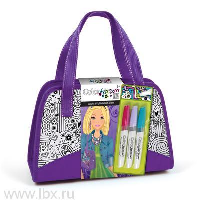 Набор для росписи по ткани `Роскошная сумочка`, STYLE ME UP (Стайл ми ап)