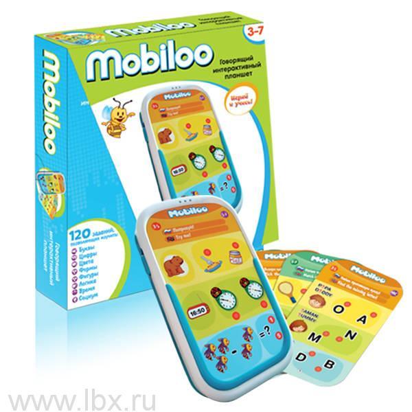 Интерактивный планшет для детей Mobiloo, Zanzoon (Занзун)