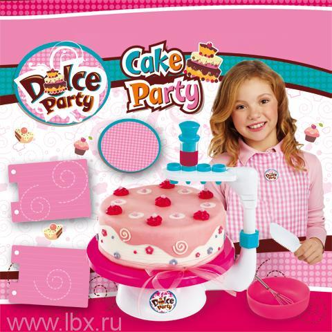 Набор `Готовим торт` с аксессуарами, Giochi Preziosi