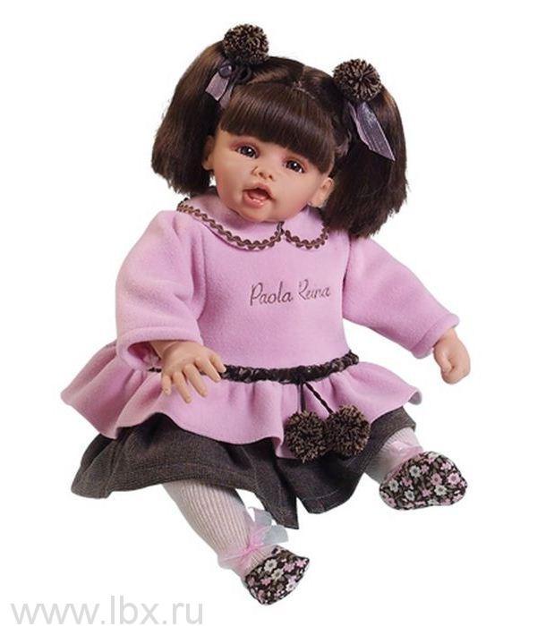 Кукла Наталия, Paola Reina (Паола Рейна) высота 50см
