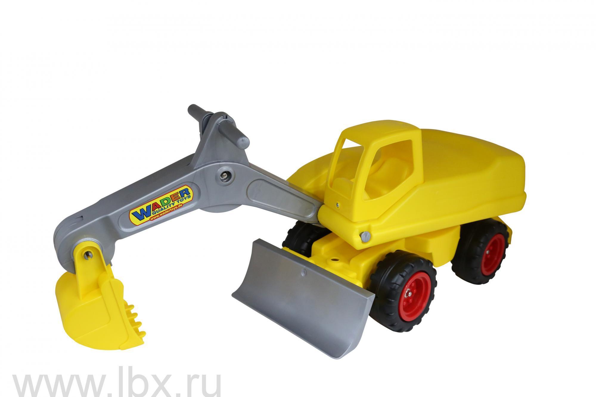 Мега-экскаватор колёсный, Wader (Вадер)