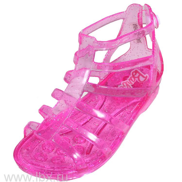 Босоножки для девочек Barbie, Fisher-Price (Фишер-Прайс)- увеличить фото
