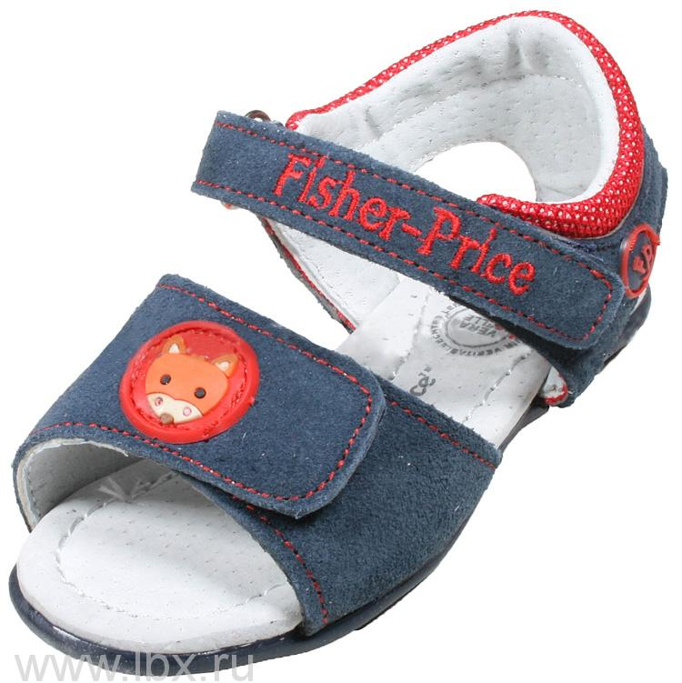 Открытые босоножки для девочек, Fisher-Price (Фишер-Прайс)