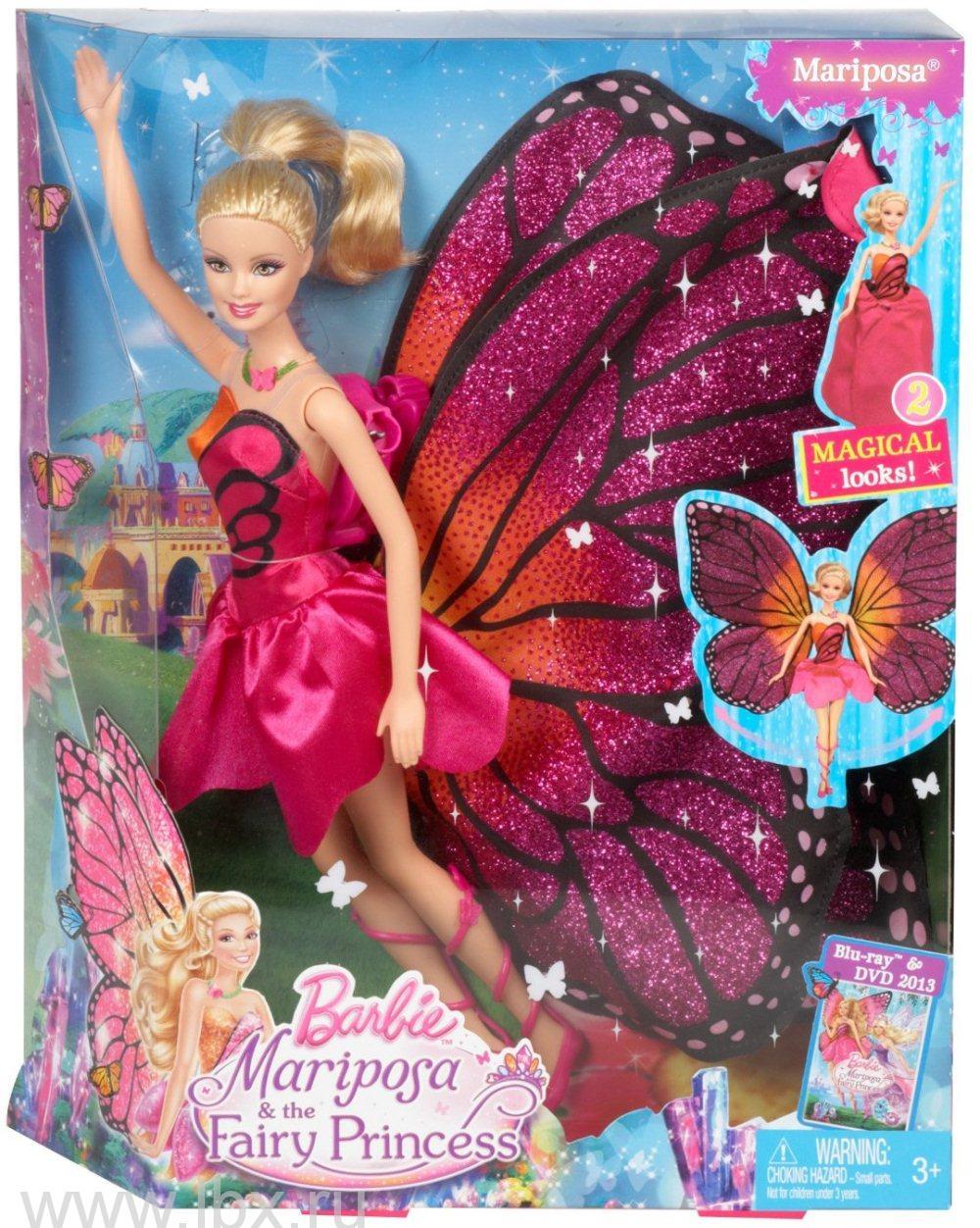 Фея принцесса `Марипоса`, Barbie (Барби)