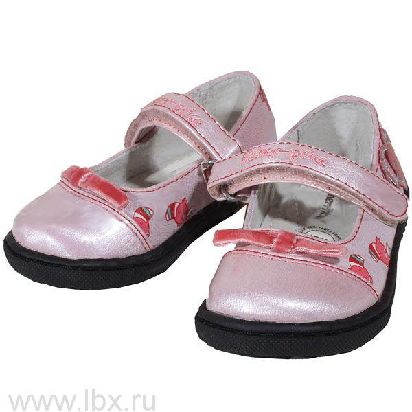 Туфли для девочки, Fisher-Price (Фишер-Прайс)- увеличить фото