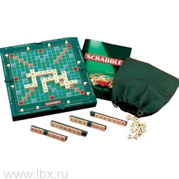 Игра Scrabble Скрэббл Трэвел, Mattel (Маттел)