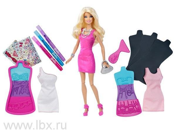 Модная дизайн - студия `Создай своё платье`, Barbie (Барби)