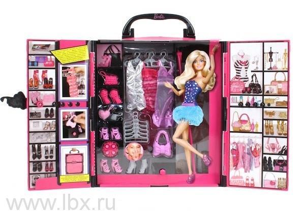 Шкаф для одежды `Стиль`, Barbie (Барби)