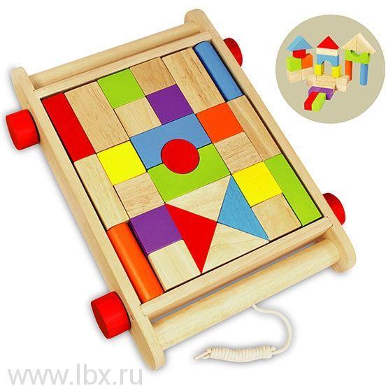 Набор `Кубики в тележке`, I m Toy (Ай эм той)