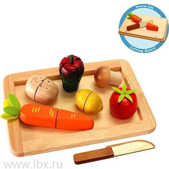 Овощи на подносе с ножом, I m Toy (Ай эм той)