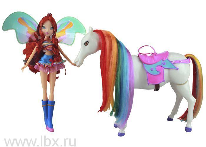 Блум и лошадка Рейнбоу, Winx (Винкс)