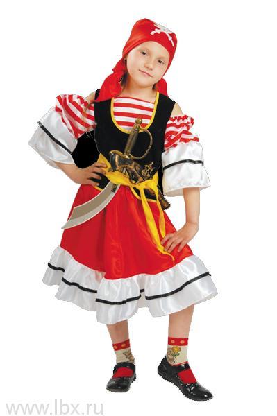 Карнавальный костюм `Пиратка` Батик
