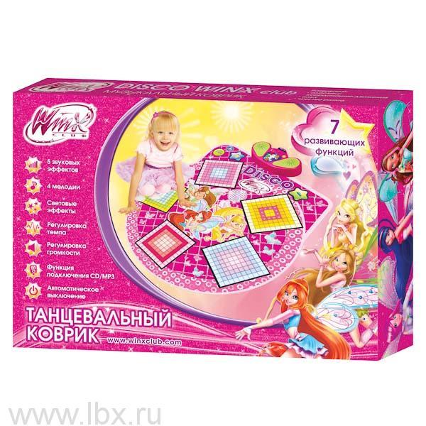 Танцевальный коврик `WinxClub` (Винкс), Умка