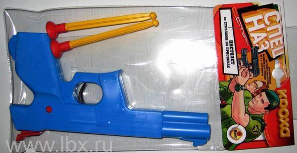 Пистолет `Спецназ` со стрелами на присосках, FunVille (ФанВиль)