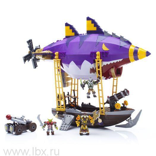 Летающий корабль Гоблина, Mega Bloks (Мега Блокс)- увеличить фото