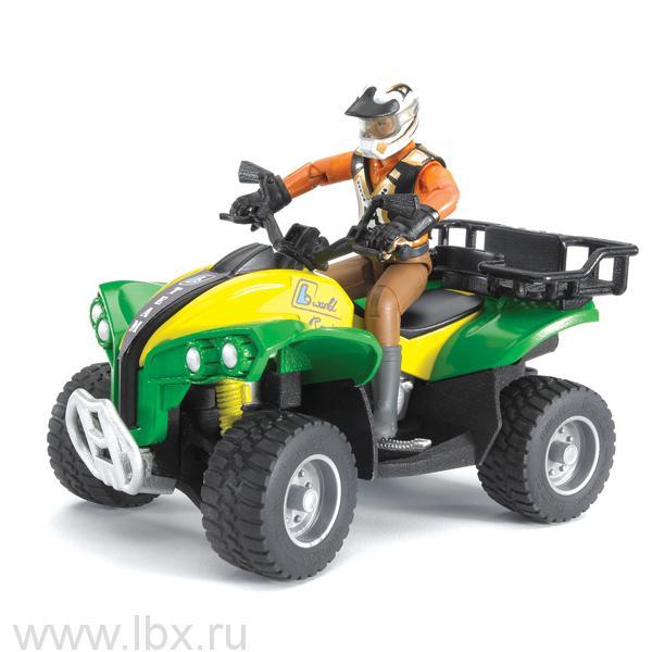 Квадроцикл с гонщиком, Bruder (Брудер)