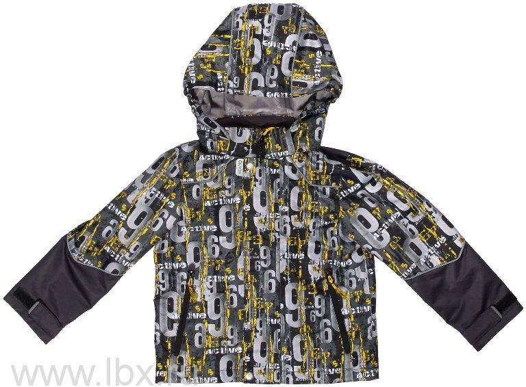 Куртка `Мартин` для мальчика, Oldos (Олдос), черная- увеличить фото