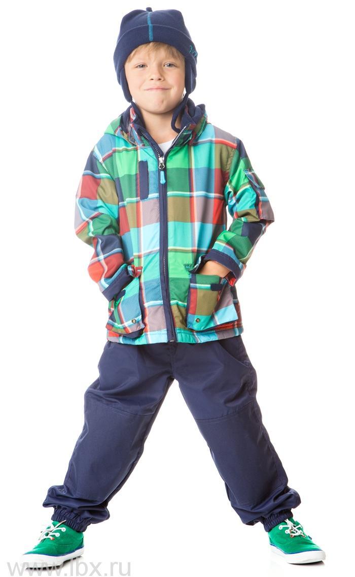 Куртка (шапка) для мальчика, Deux par deux (Дю пар Дю)
