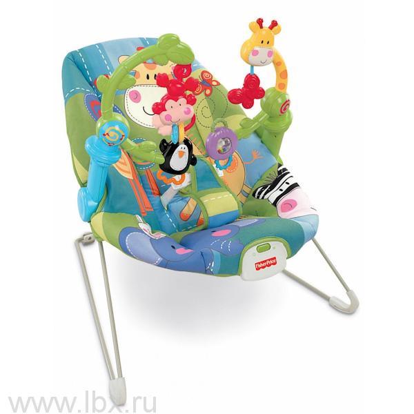 Кресло - качалка `Расти и познавай`, Fisher Price (Фишер Прайс)