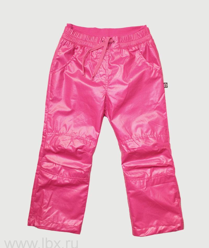 Брюки детские розовые Crockid (Крокид)- увеличить фото