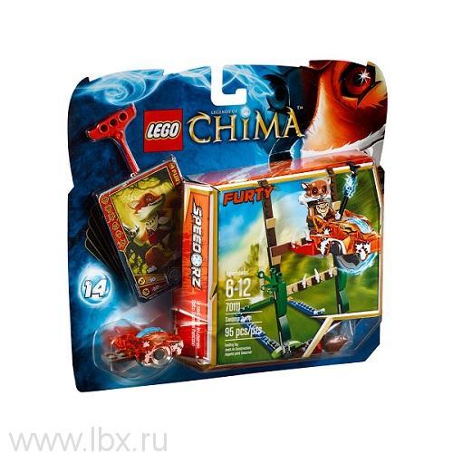 Прыжки по болотам Lego Legends of Chima (Лего Легенды Чимы)