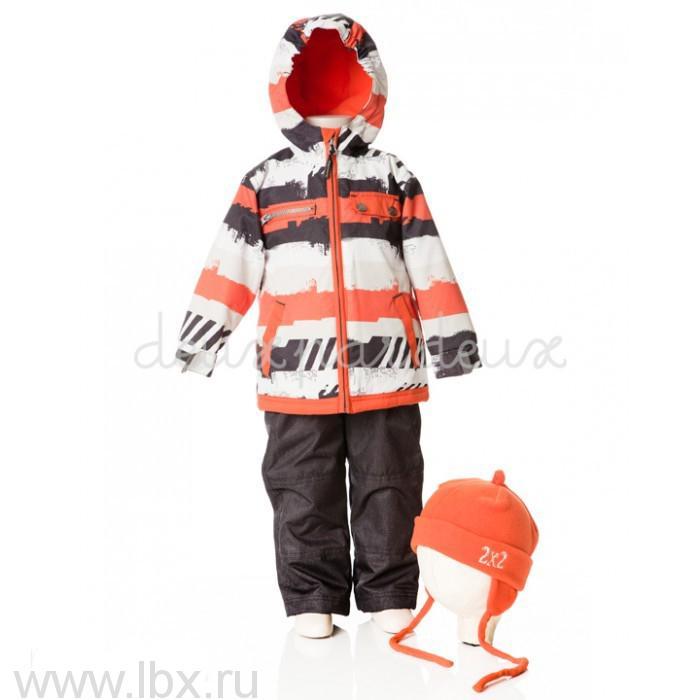 Костюм (куртка, брюки, жакет, шапка) для мальчика, Deux par Deux (Дю пар Дю)