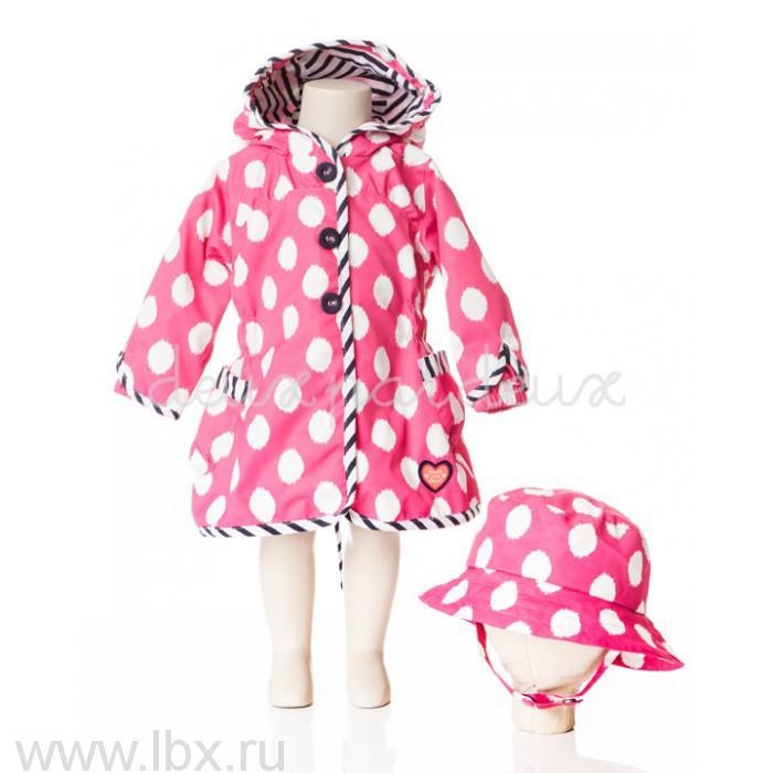 Пальто (панама) для девочки, Deux par Deux (Дю пар Дю)