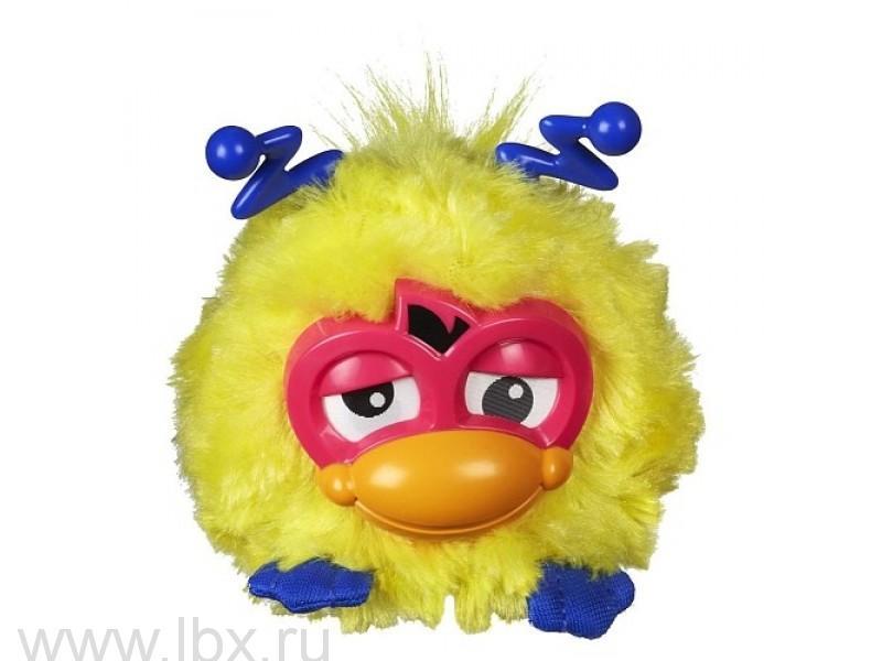 Интерактивная игрушка `Ферби`, желтый с синими ушами, Hasbro Furby (Хасбро Ферби)