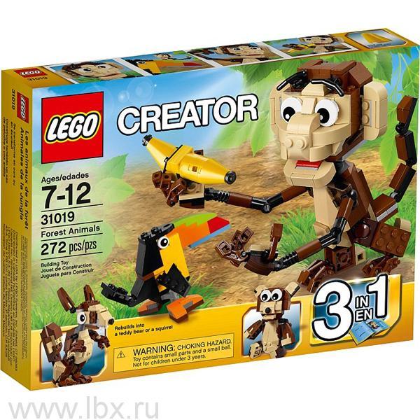 Озорные животные Lego Creator (Лего Криэйтор)