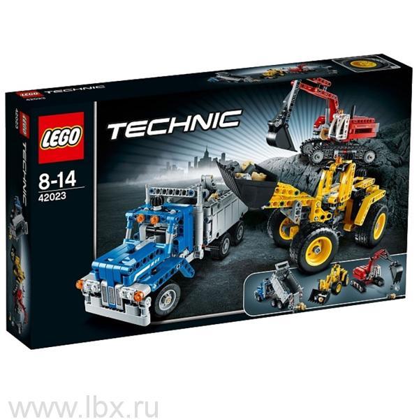 Строительная команда Lego Technic (Лего Техник)